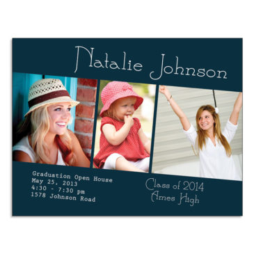 Graduation Announcement design by PDG Printing, Story City Iowa