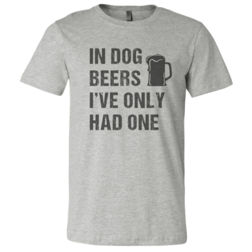 Heather Grey Dog Years Graphic Tee