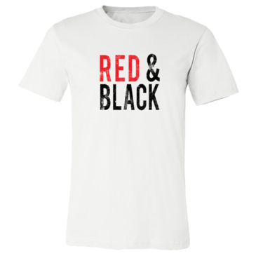 Red & Black Graphic Tee