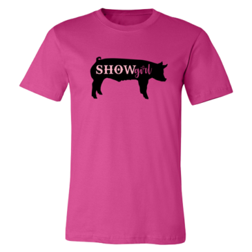 Berry Show Girl Graphic Tee