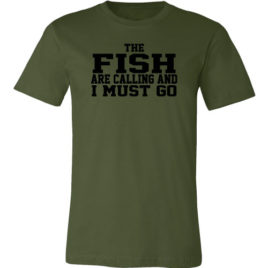 The Fish Are Calling and I Must Go