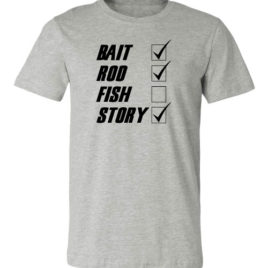 Bait Rod Fish Story